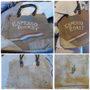 Espesso Roast canvas tote bag NWT for Sale in Las Cruces, NM