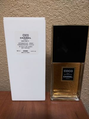 Coco Chanel EDT 3.4 oz brand new tester with box women's perfume for Sale in West Palm Beach, FL