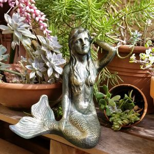 Brand New! Solid Metal Rustic Mermaid -Foot tall! for Sale in Miami, FL