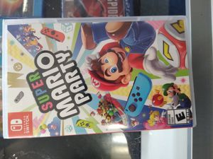 Nintendo switch Super Mario Party for Sale in Dallas, TX