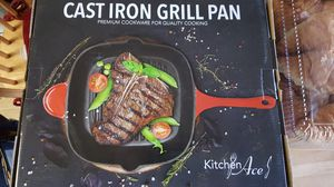 Cast Iron Grill Pan-Brand New! for Sale in San Gabriel, CA