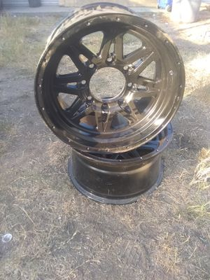 $150 8 lugs rims brand new for Sale in Fresno, CA