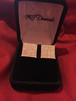 MJ Diamonds brand earrings for Sale in Detroit, MI