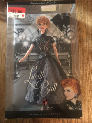2008 LUCY LEGENDARY LADY OF COMEDY Mattel Barbie Doll #N2691 for Sale in Spring, TX