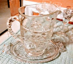 ANTIQUE BEVELED CHINA AND GLASSWARE for Sale in St. Petersburg, FL