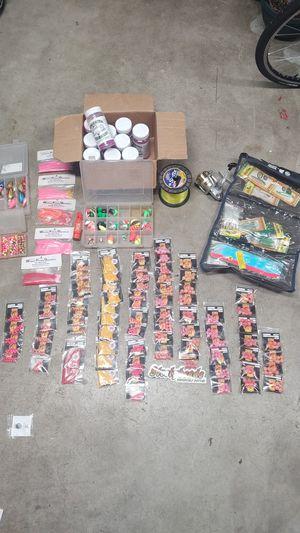 Fishing gear and 1 Daiwa Sweepfire 3500-2b reel for Sale in Mill Creek, WA