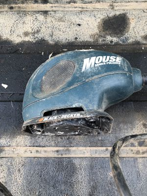 Black & decker sander/polisher (missing bottom piece) for Sale in Tracy, CA