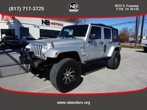 2011 Jeep Wrangler Unlimited for Sale in Fort Worth, TX