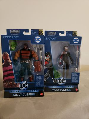 DC Multiverse KG Beast and Katana for Sale in Woodbridge, VA