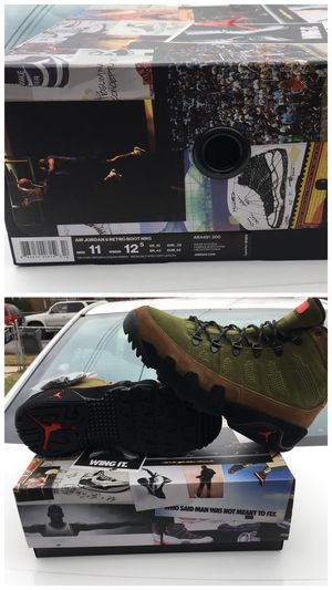 Air Jordan 9 retro boot size 11 for Sale in UNIVERSITY PA, MD