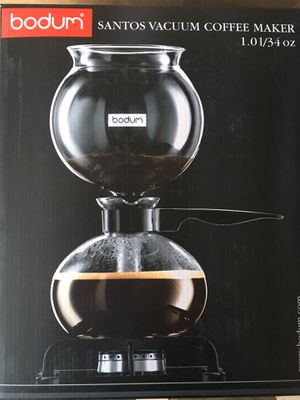 NEW Bodum Santos vacuum coffee maker for Sale, used for sale  Murrieta, CA