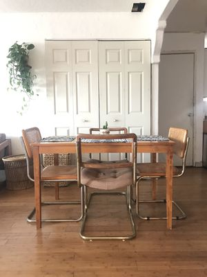 Boho Wooden Dining Table for Sale in Chula Vista, CA