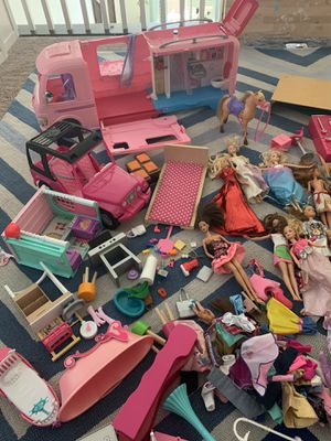 Large collection of Barbie toys for Sale in Las Vegas, NV
