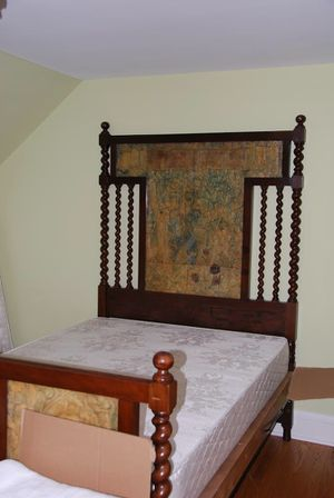 Antique Mahogany Barley Twist Double Bed for Sale in Portland, OR