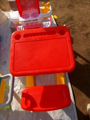 Kid play desk for Sale in Fresno, CA