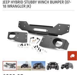 Rough Country Jeep Hybrid Stuby Winch Bumper part 1062 for Sale in Mokena,  IL