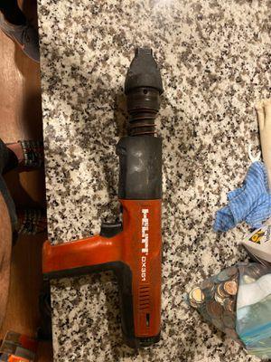Hilti nail gun DX351 work great for Sale in Sandy, UT