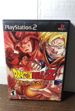 Dragon Ball Z Budokai PS2 for Sale in Downey, CA