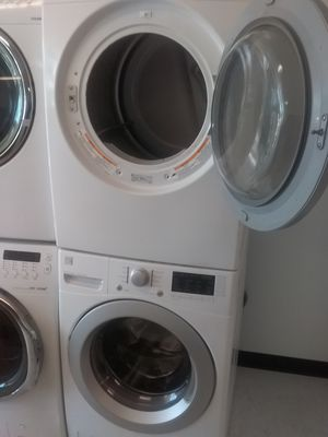 Kenmore washer and lg dryer used good condition 90days warranty for Sale in Mount Rainier, MD