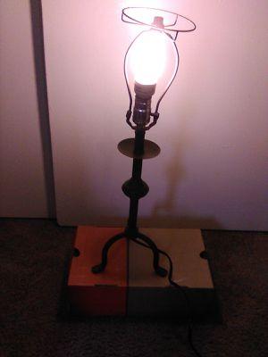 """PRISTINE"" Antique Cast Iron Lamp. for Sale in Huntington Beach, CA"
