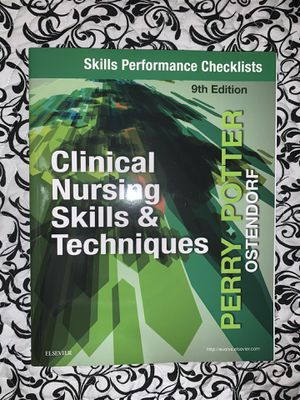 Skills Performance Checklist for Clinical Nursing Skills & Techniques for Sale in Hialeah, FL