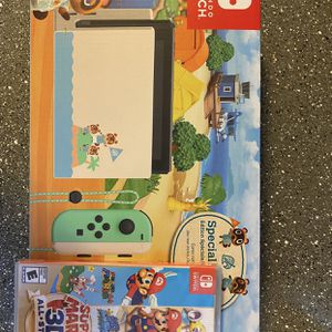Nintendo Switch Animal Crossing With Mario 3D All Stars for Sale in Phoenix, AZ