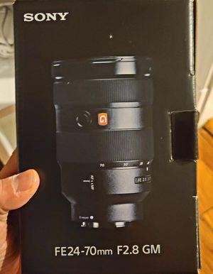 Sony FE 24-70mm f/2.8 G Master E-Mount Lens for Sale in Medford, MA