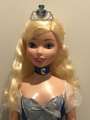 MY SIZE Cinderella Fairytale Friend Disney Princess Doll-3 FT TALL for Sale in Apex, NC