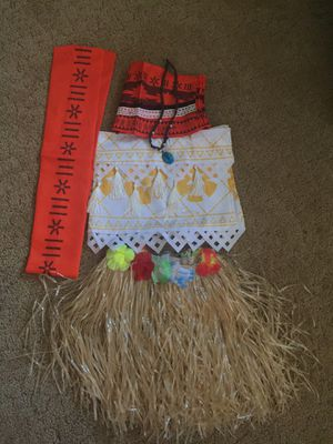 Moana dress up size 6/7 for Sale in Portland, OR