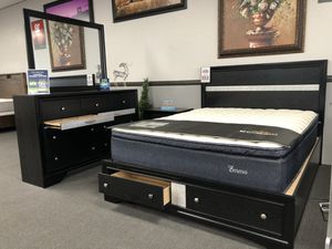 4PC Queen Bedroom Set on SALE 🔥🔥🔥 FREE DELIVERY 🚚 for Sale in Fresno, CA