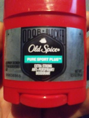 Old spice Pure Sport Plus/ Extra strong anti-perspirant 0.5oz for Sale in Irving, TX