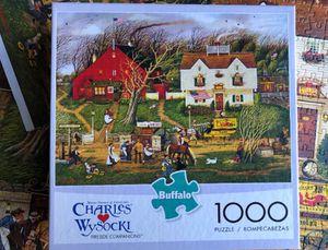 Buffalo Games 1000 Piece Jigsaw Puzzle for Sale in Laguna Hills, CA