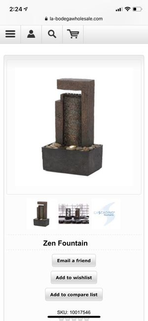 Zen Fountain for Sale in New York, NY