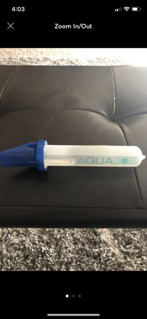 AquaJoe Workout Supplement Container for Sale in Las Vegas, NV