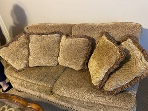 Couch + Love Seat including pillows for Sale in Columbia, SC