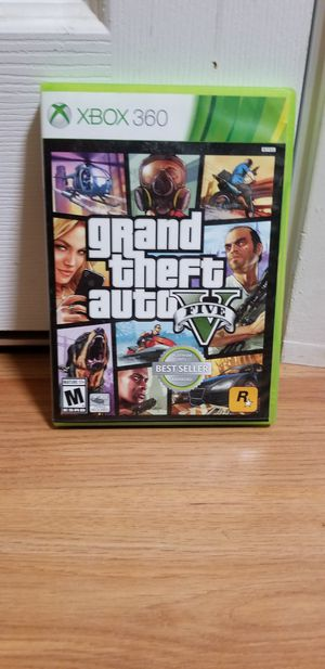 GTA 5 - XBOX 360, GREAT Condition, No Trade, Price Firm for Sale in Garden Grove, CA