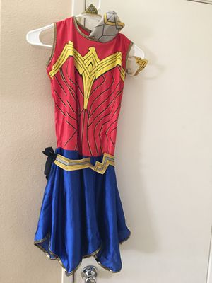 Wonder Woman size girls large for Sale in Corona, CA