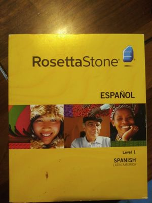 Rossetta Stone Spanish level 1 for Sale in Silver Spring, MD