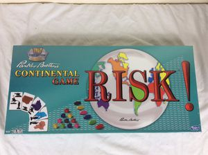 NEW Sealed Risk! Continental Board Game By Parker Brothers 1959 1st Ed Classic Reproduction for Sale in Severn, MD