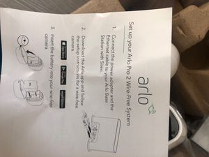 Arlo pro 2 smart wireless cameras - 4 total for Sale in Pasadena, CA