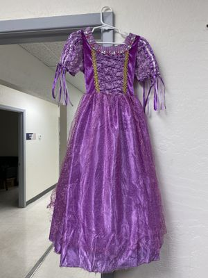 Disney Princess Rapunzel Dress - 4T to 5T for Sale in Scottsdale, AZ