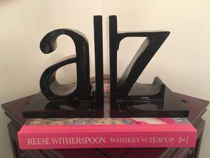 Alphabet letter bookends for Sale in St. Petersburg, FL