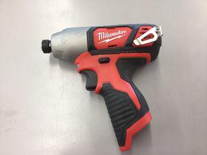 Milwaukee M12 Impact Drill 2462-20 for Sale in Auburn, WA