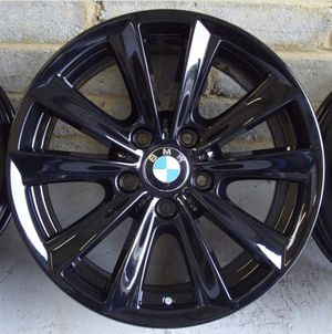 """BMW M SPORT 17"""" Gloss Black rims 528 535 550 for Sale in Brooklyn, NY"""