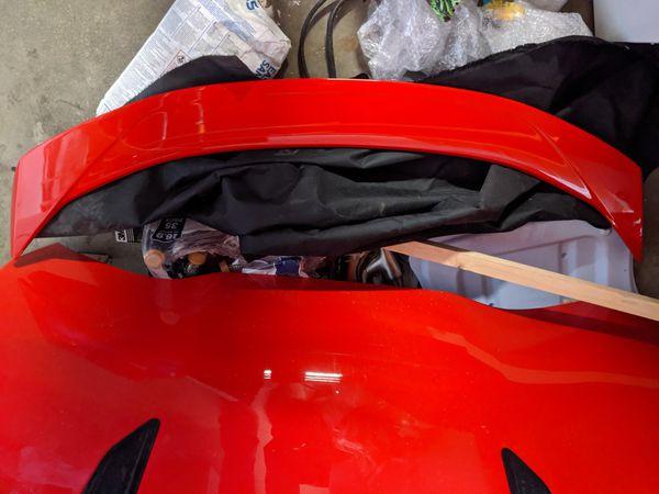 6th gen Camaro hood/spoiler