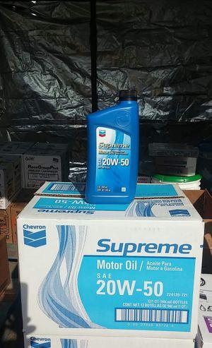 Supreme 20w/50 for Sale in Montclair, CA