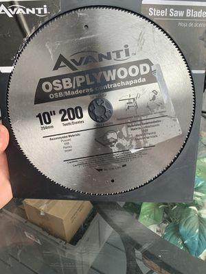 10 in. x 200-Teeth OSB/Plywood Saw Blade for Sale in Lakeland, FL