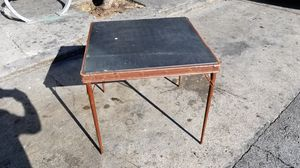 Mid century industrial folding table for Sale in San Francisco, CA