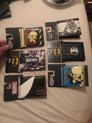 DC and Marvel wallets for Sale in Las Vegas, NV