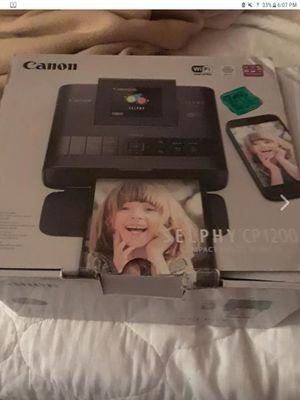 Canon SELPHY CP 1200 COMPACT PHOTO PRINTER for Sale in Wichita, KS